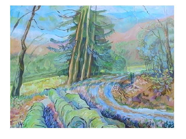 20090321 Am Rentnerweg 70 x 90 cm.